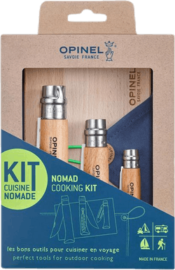 Nomad Cooking Kit Brown