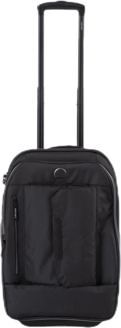Tramontane 55 cm 2-Wheel Cabin Trolley (Soft w/ Trolley/Backpack Function) Black
