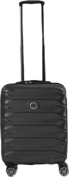 Meteor EU 55 cm 4 Double Wheels Cabin Trolley Black