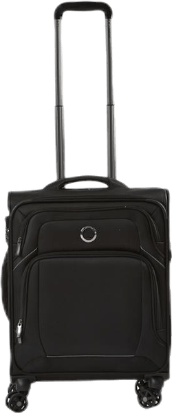 Optimax Lite 55 cm 4 Double Wheels Cabin Trolley Black