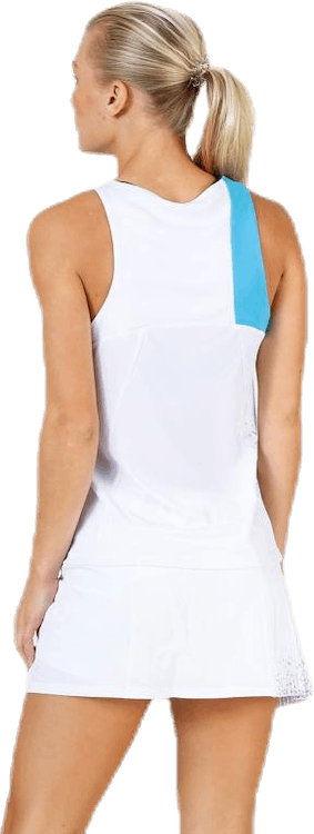 Tank Top Performance Blue/White