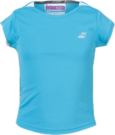 Cap Sleeve Top Performance Blue