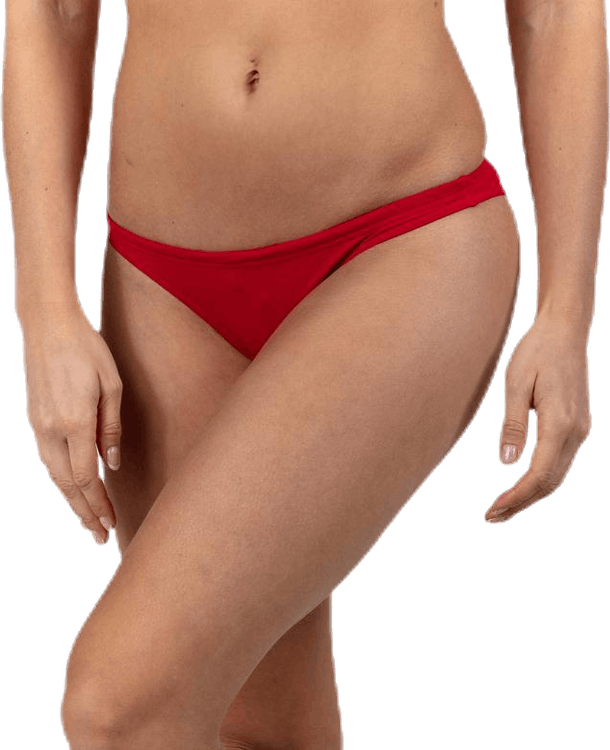 Solid Bottom Red