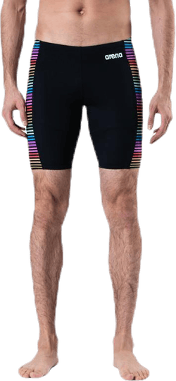 Multicolor Stripes Jammer Patterned/Black