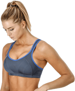 Active MultiSports Support Bra Grey