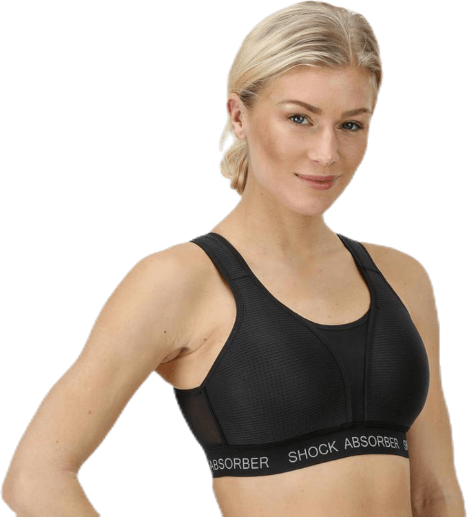 Ultimate Run Bra Padded Black