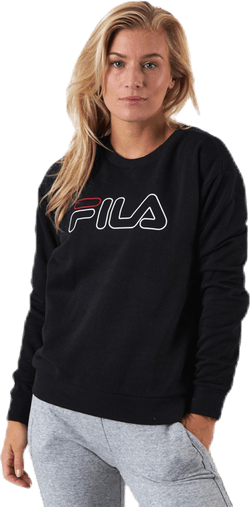 Lara Crew Sweat Black