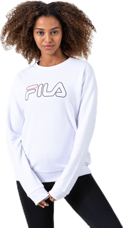 Lara Crew Sweat White