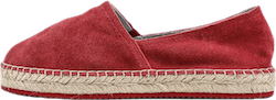 Aliso Suede Red