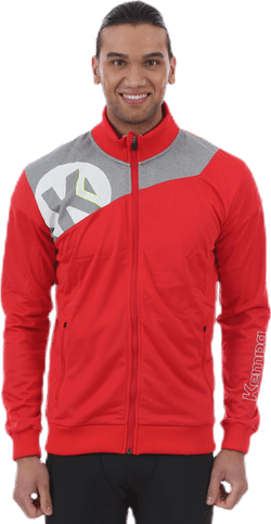 Core 2.0 Poly Jacket Grey/Red