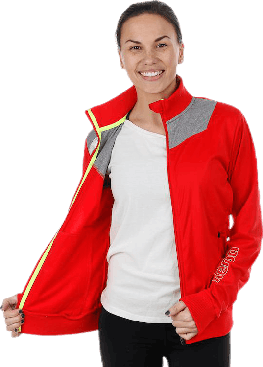 Core 2.0 Poly Jacket W Grey/Red