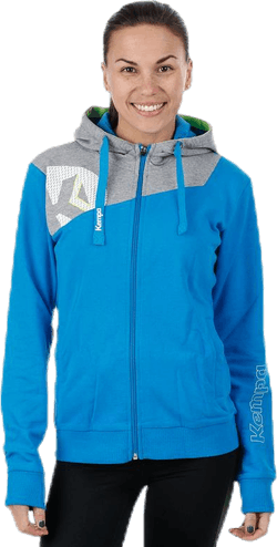 Core 2.0 Hood Jacket W Blue/Grey