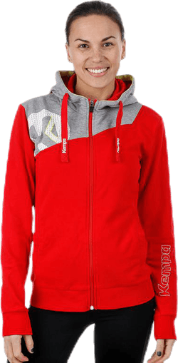 Core 2.0 Hood Jacket W Grey/Red