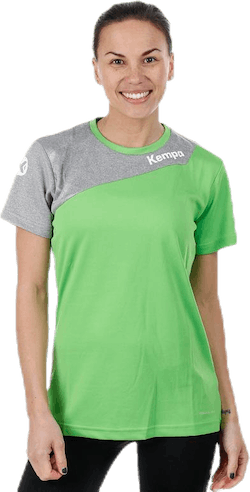 Core 2.0 Shirt W Green/Grey