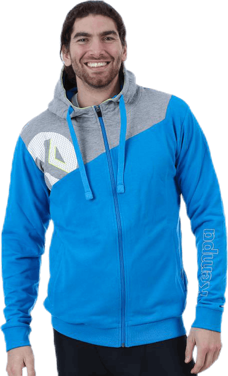 Core 2.0 Hood Jacket Blue/Grey