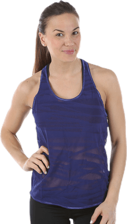Mesh It Up Layer Tank Purple