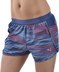 "PR Core 3"" Short W Purple/Patterned"