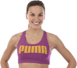 Yogini Puma Bra Purple