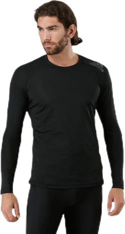 Alphaskin Spirit Tee LS Black