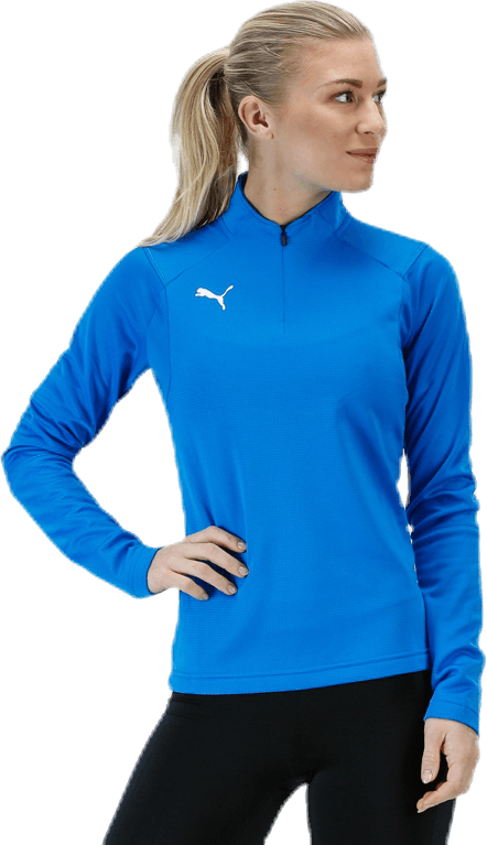 LIGA Training 1/4 Zip Top W Blue