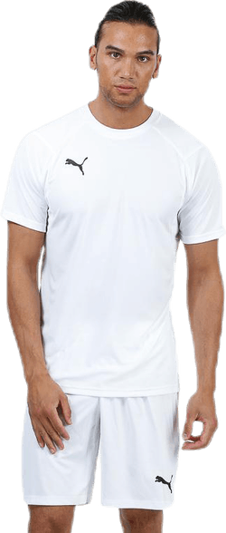 LIGA Training Jersey White/Black