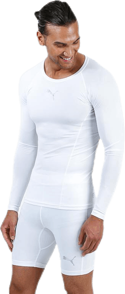 LIGA Baselayer Tee LS White