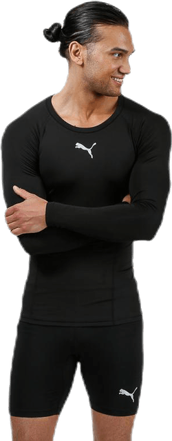 LIGA Baselayer Tee LS Black