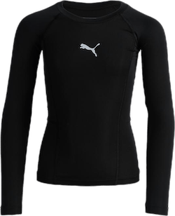 LIGA Baselayer Tee LS Jr Black