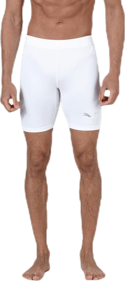 LIGA Baselayer Short Tight White