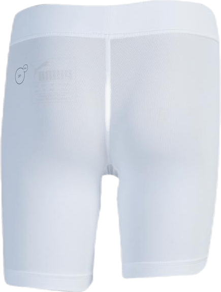 LIGA Baselayer Short Tight Jr White