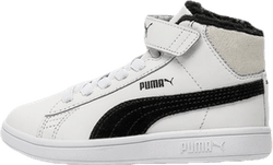 Puma Smash v2 Mid L Fur V PS White