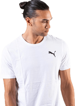 Essential Small Logo Tee White