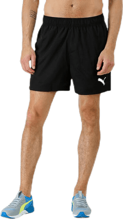 "Active Woven Short 5"" Black"