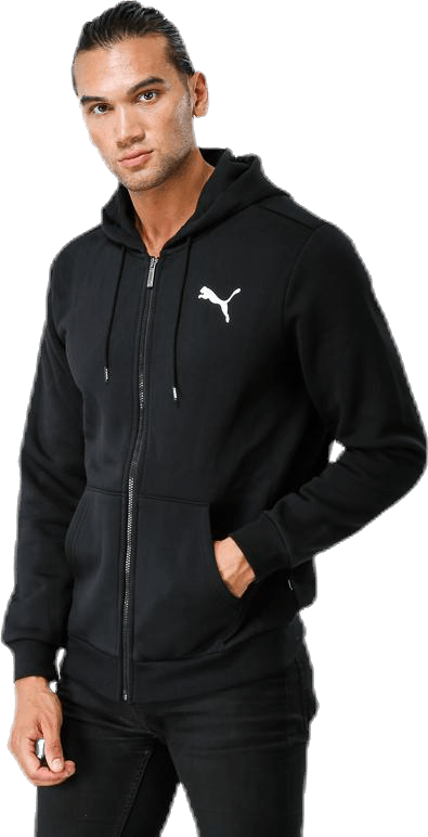 Essential FZ Hoody Black