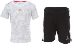 World Cup Training Set Infant White/Black