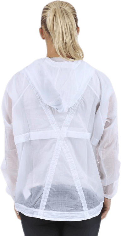 Packable Woven Anorak White