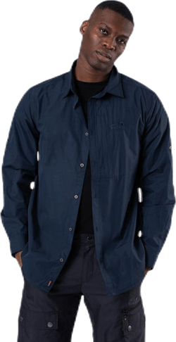 Lakeside Roll-Up Shirt Blue