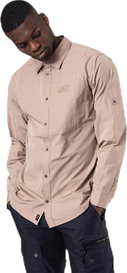 Lakeside Roll-Up Shirt Beige
