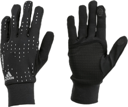 Run Gloves Black