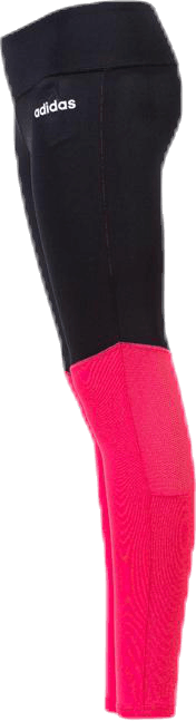 Girls Colour Block Tights Pink/Black