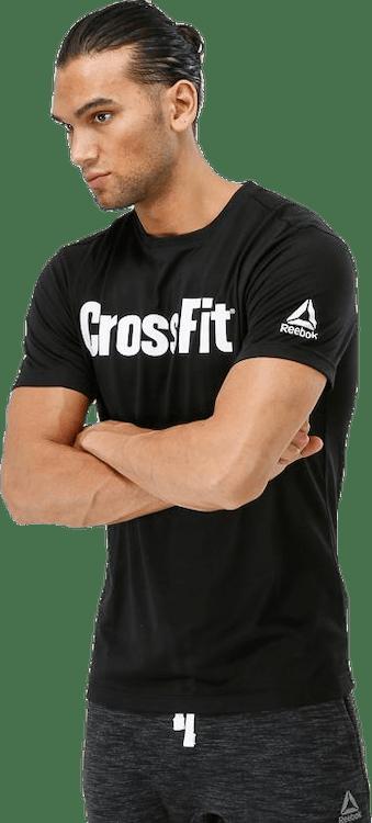 CrossFit Fef Speedwick Tee White/Black