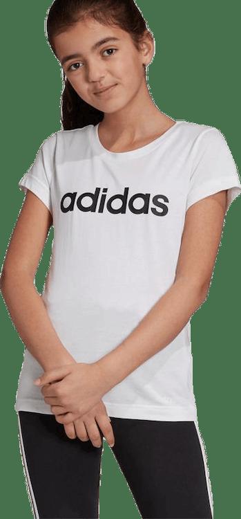 Linear Tee Girl White/Black