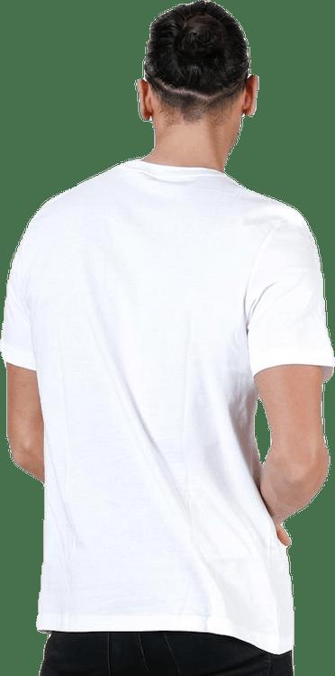 Essential Linear Tee White/Black