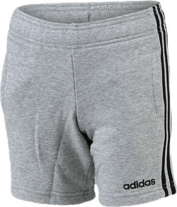 3 Stripe Knit Shorts Youth Black/Grey
