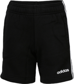 3 Stripe Knit Shorts Youth White/Black