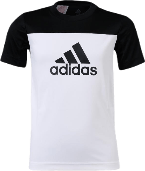 Training EQ Tee Youth White/Black