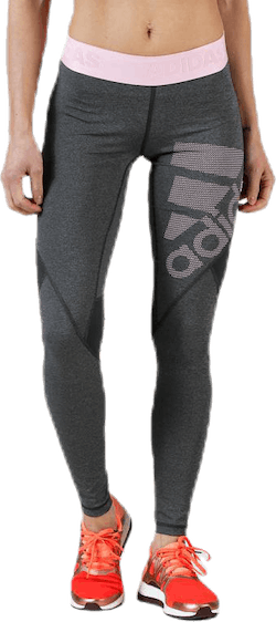 Alphaskin Sport Graphic Long Tights Pink/Grey