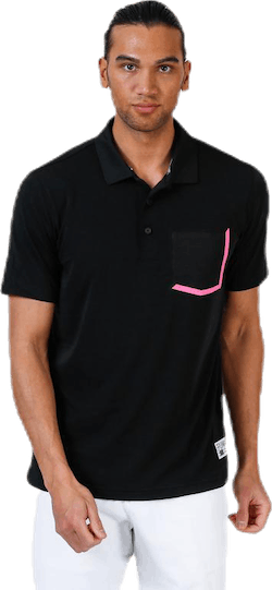 Faraday Polo Pink/Black