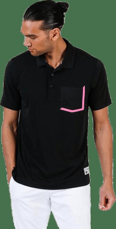 Faraday Polo Pink/Black