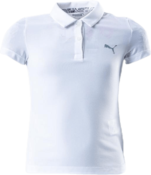 Girls Essential Polo White